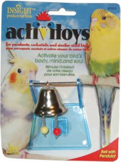 JW Pet Activitoy Bird Toy Bell W/Pendulum