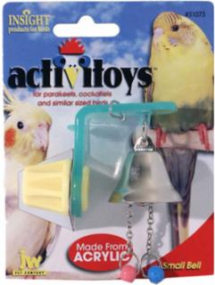 JW Pet Activitoy Bell Bird Toy