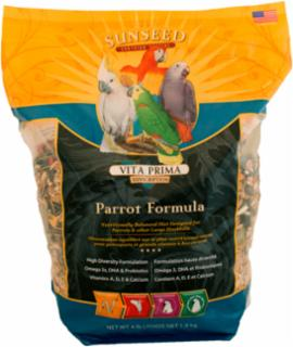 Vitakraft/Sunseed Vitaplus Parrot 6/4 lb.