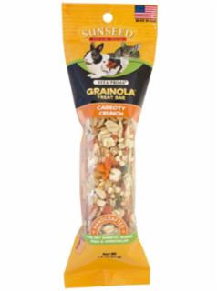 Vitakraft Vita Prima Grainola Carrot & Parsley Treat Bar for Pet Rabbits, Guinea Pigs and Chinchillas 2Z *REPL 222062