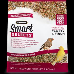 Zupreem Smart Selects™ -  Canary/Finch 2#