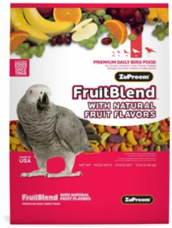 Zupreem Fruit Blend Large Parrot/Conure 12 lb.