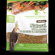 Zupreem Natural Medium Bird 2.5 lb.
