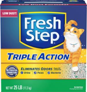 Everclean Fresh Step Triple Action Scoop 25#