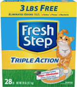 Clorox Fresh Step Triple Action Scoop Litter 28#