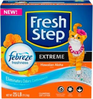 Fresh Step Hawaiian Aloha Febreeze Litter 25#