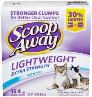 Scoop Away Lightweight Scented Litter 15.4#