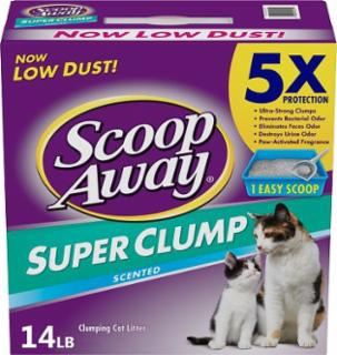Everclean Scoop Away Fresh Scent 3/14 lb.