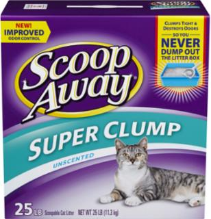 Everclean Scoop Away Free 25 lb.