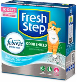 Everclean Fresh Step Odor Shield Scoop 3/14 Lb Boxes
