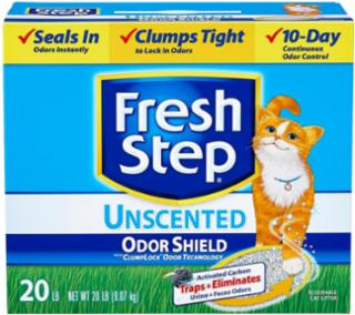 Everclean Fresh Step Odor Free Litter 20 lb. Box