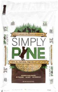 Healthy Pet Simply Pine Pellet Cat Litter 20#