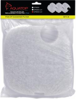 AQUATOP Replacement Pads for CF500-UV 3 Pc Fine