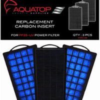 AQUATOP Filter Cartridge for PF25-UV, 3pk