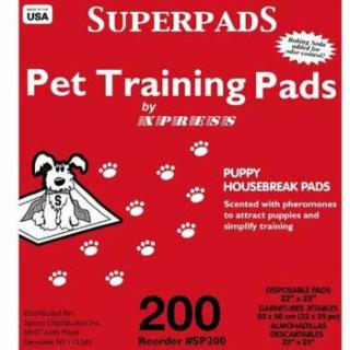 Superpad Training Pad 200 Ct. Box