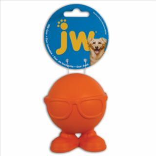 JW Pet Hip Cuz Assorted Medium Rubber Dog Toy
