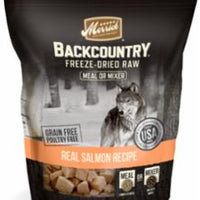 Merrick Backcountry Freeze Dried Meal Mixer - Salmon Recipe 12Z C=6