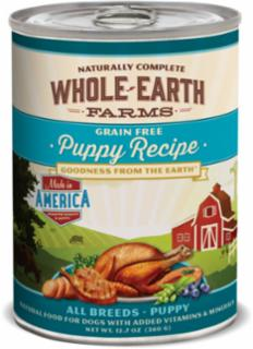 Merrick Whole Earth Farms Puppy Cans - 12/12.7oz.