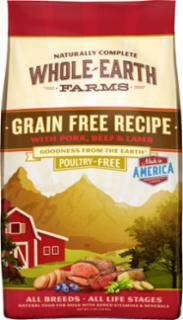 Merrick Whole Earth Farms Grain Free Beef & Lamb 25#