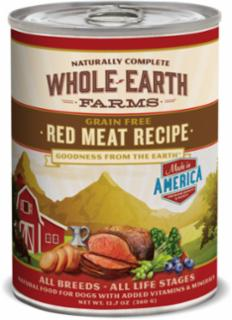 Merrick Whole Earth Farms Red Meat Recipe 12/12.7oz