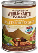 Merrick Whole Earth Farms Hearty Chicken Stew 12/12.7oz