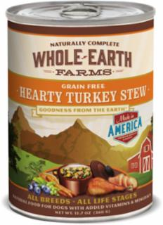 Merrick Whole Earth Farms Hearty Turkey Stew 12/12.7oz