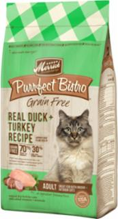 Merrick Purrfect Bistro Real Duck & Turkey Recipe 7# C=5
