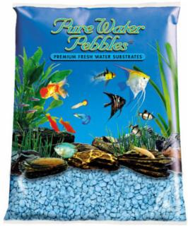 Nature's Ocean Pure Water Pebble Color Heavenly Blue 5lb 6pk