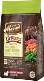 Merrick Lil'Plates Grain Free Real Lamb + Sweet Potato Recipe 6/4lb