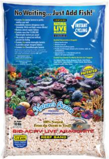 Nature's Ocean Bio-Activ Live Reef Substrate 16lb 2pk