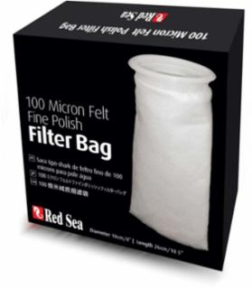"Red Sea Filter Socks 100 Micron Felt Fine Polish Filter Bag - 100(4"")/260(10.5"")"