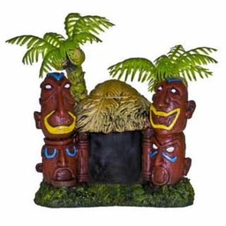 Blue Ribbon Betta Hut With 2 Palm Tree 3.752.753.25
