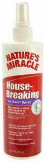 Nature's Miracle Housebreaking Go Here Spray 16oz