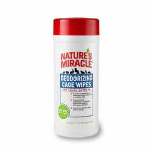 Nature's Miracle Small Animal Cage Scrub Wipe 30ct