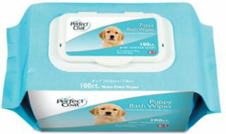 8in1 Perfect Coat Bath Wipes Puppy 100pk
