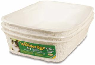 8 In 1 Kitty's Wonderbox Disposable Cat Litter Box 3 Pack