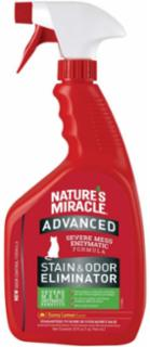 Nature's Miracle Advanced Just For Cats Stain & Odor Sunny Lemon 12/32oz