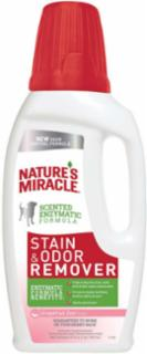 Nature's Miracle Stain & Odor Remover Dog Grapefruit Zest Pourable 12/32oz
