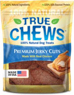 Tyson True Chews Premium Jerky Cuts Made With Real Chicken 4Z *REPL 314351