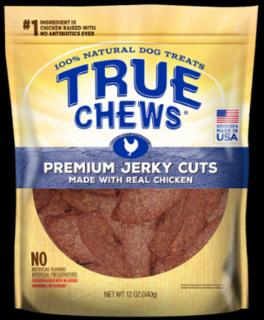 Tyson True Chews Premium Jerky Cuts Made With Real Chicken 12Z *REPL 314153