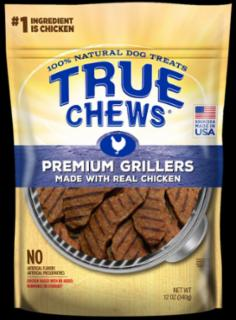 Tyson True Chews Premium Grillers Made With Real Chicken 12Z *REPL 314064