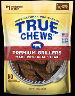 Tyson True Chews Premium Grillers Made With Real Steak 12Z *REPL 314065
