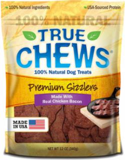 Tyson True Chews Chicken Bacon Recipe 12Z *REPL 314035