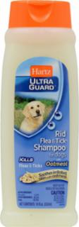Hartz Ultra Guard Rid Flea & Tick Dog Oatmeal Shampoo 18oz