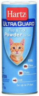 Hartz Ultra Guard Flea & Tick Powder For Cats 4oz