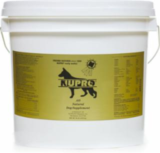 Nupro All Natural Dog Supplements 20 lb.