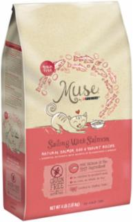 Muse Dry Cat Salmon Egg Yogurt 6/4lb