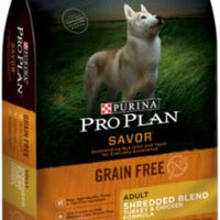 Pro Plan Savor Shredded Blend Grain Free Adult Turkey & Chicken Formula 6/4lb