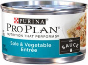 Pro Plan Sauce Sole/Vegetable Cat Can 24/3oz