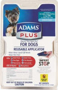Adams Plus Flea & Tick Spot On Dog Small 3 Month With Applicator 24ea